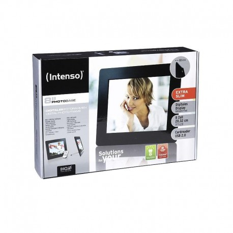 "RAMKA DO ZDJĘĆ INTENSO 8"" PHOTOBASE LED 800x600"